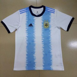 S-2XL 19/20 argentina home short sleeve jersey