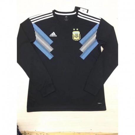Argentina away long sleeve jersey s-2XL Argentina Away Long Sleev