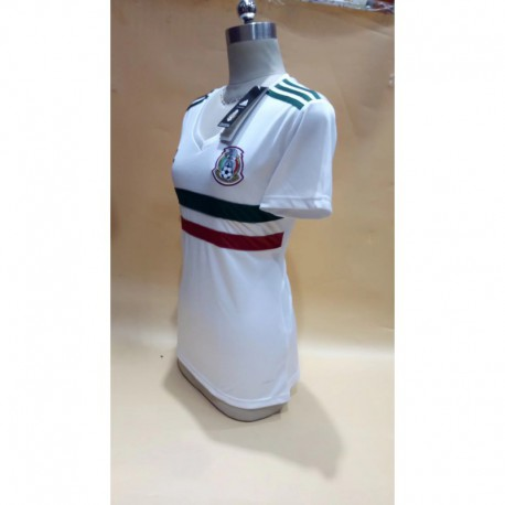 Mexico away girl women lady s-XL 2018 World Cup Mexico Away Women's Model