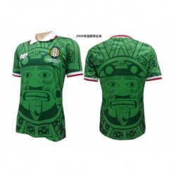 S-XL 1998 Mexico Home Retro Jerseys 1998 Mexico Home Vintage Jerse
