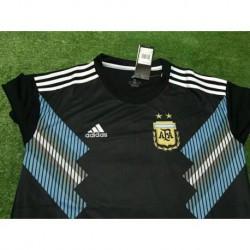 S-2XL Argentina Away Short Sleeve Jersey