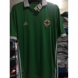 S-XL Northern Ireland Home Short Sleeve Jersey