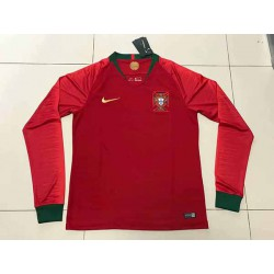 Portugal-Long-Sleeve-Jersey-Portugal-Kit-Long-Sleeve-S-2XL-Portugal-home-long-sleeve-jersey-2018-Portugal-home-Long-Sleeve