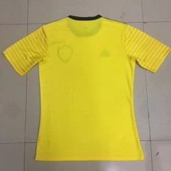 P60: World Cup Fans Version Belgium Away Yellow 2018 World Cup Fans Belgium Away Yello