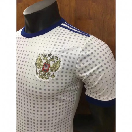 S-2XL 2018 Russia Away Russian Away Fan