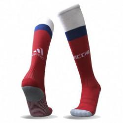 Russia home socks russia home football socks thailand qualit