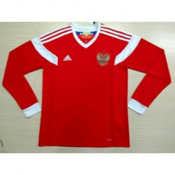 2018 long sleeve russia home jersey