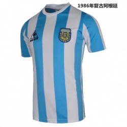 S-XL 1986 Argentina Home Retro Jerseys 1986 Argentina Home Vintage Jerse