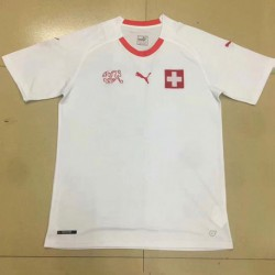 S-2XL Fans Version Swiss Away Jerseys Swiss Away Fan