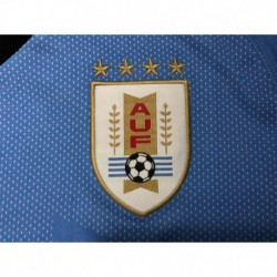 S-4XL Uruguay 2018 Home Jersey 2018 World Cup Uruguay Home Fans Versio