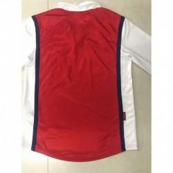 S-XL Arsenal 1998 Retro Jerseys 1998 Vintage Arsenal Long Sleev
