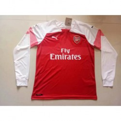 Arsenal-Home-Long-Sleeve-Arsenal-Long-Sleeve-Shirt-S-2XL-1819-Arsenal-Home-long-sleeve-jersey
