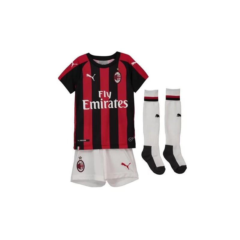 Inter Milan Home Kit Inter Milan Kids Shirt Kids 18 19 Ac Milan Home Jersey Child Ren Ac Milan Home Kids
