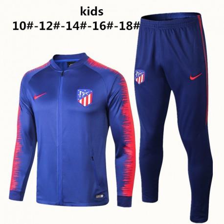Kids 18/19 atletico madrid jacket child re