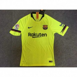 S-4XL Fans 18/19 with patches barcelona away jerse