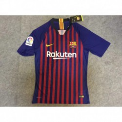 S-4XL Fans 18/19 with patches barcelona home jerse
