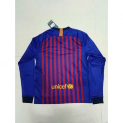 Barcelona-Long-Sleeve-Jersey-Barcelona-Long-Sleeve-Shirt-S-2XL-1819-Barcelona-Home-long-sleeve-jersey