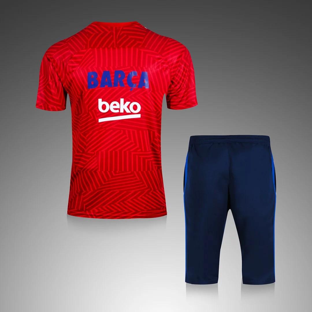Fc Barcelona Mens Pyjamas Barcelona New Kit Url S Xl 16 17 Tracksuit Shorts Barcelona