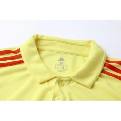 Colombia polo jersey s-XL 2018 World Cup Colombia Polo Shirt Yello