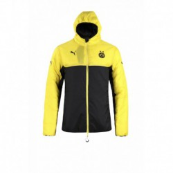 S-2XL Borrusia Dortmund Cotton Sweater Dort Cotton Coat Worn On Both Side