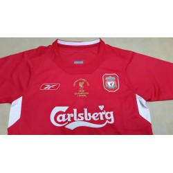 S-XL 2005 Liverpool Home Retro Jerseys 2005 Liverpool Home Vintage Jerse