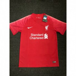 S-XL Fans 19/20 Liverpool Home Fans Version Short Sleeve Jersey