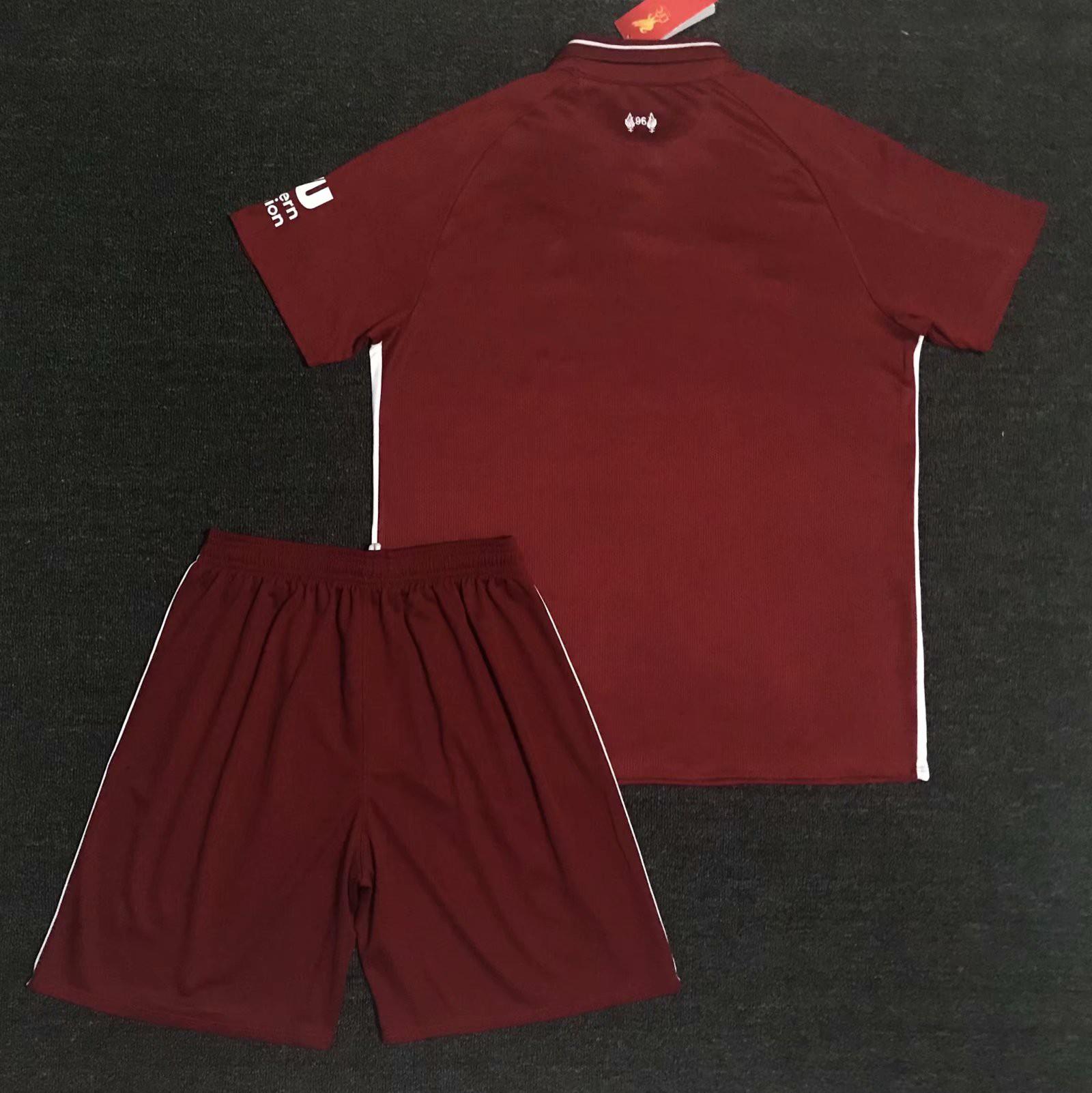 outlet store cc553 e760c Thailand Dream League Soccer Kit,Thailand T Shirt Wholesale Market,S-4XL  Fans 18/19 Liverpool Home Thailand Quality