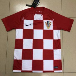 Fans s-4XL Croatia Home Jersey 2018 World Cup Croatia Home Fans Versio