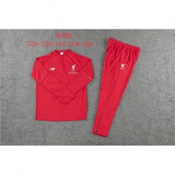 Kids 18/19 tracksuit liverpool child ren 1819 liverpool red kid