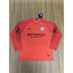 18/19 long sleeve goalkeeper manchester city jerse