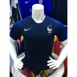 S-4XL Fans Version France Home Jersey 2018 French Home Fans Versio