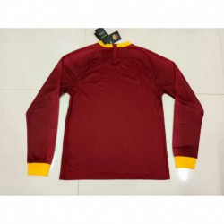 Roma-Long-Sleeve-Jersey-As-Roma-Home-Kit-S-2XL-1819-roma-Home-long-sleeve-jersey