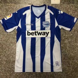 S-2XL Fans 18/19 Deportivo Alaves Home Jersey Fans Versio