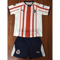 Kids 18/19 chivas home jersey child re