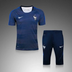 S-XL 16/17 tracksuit shorts france jersey t-shir