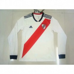 S-2XL 18/19 river plate home long sleeve jerse