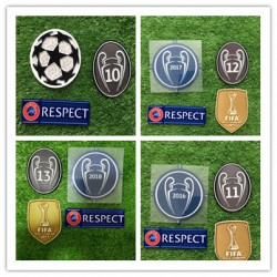 Real Madrid1415161718 UEFA Champions League Patche