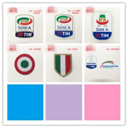 1516 1617 Italy Serie A Patche