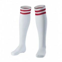 Two bars plain towel socks 2