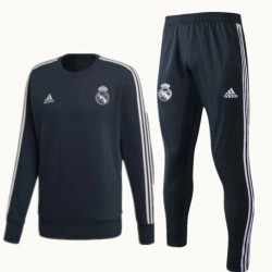 S-XL Size:18-19 tracksuit real madrid 18/19 real madrid smoke roundcolla